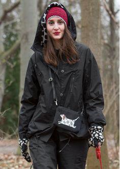 "winter 2017 Tasche ""Hund"" aus Baumwolle 77922-99.tif Beautiful Clothes, Beautiful Outfits, Rain Jacket, Bomber Jacket, Gudrun, Models, Winter 2017, Comme, Berlin"