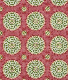Robert Allen Bulverde Peony - $35.8 | onlinefabricstore.net