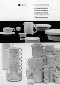 TC100 stacking dinnerware / design, Nick Roericht manufactured by Thomas / via alphanumeric., flickr