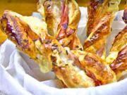 Slané tyčinky z lístkového cesta plnené šunkou a syrom - recept na party tyčinky Vegetables, Food, Meal, Essen, Vegetable Recipes, Hoods, Meals, Eten