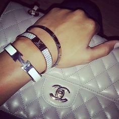 Chanel Bag&Hermes Bracelet