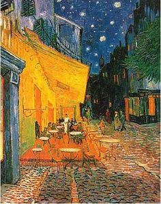 Cafe terrace at night '1888'
