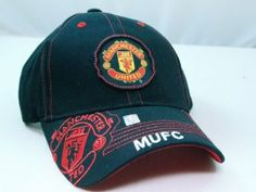 FC MANCHESTER UNITED OFFICIAL TEAM LOGO CAP / HAT - MU016 by Tripact Inc. $15.95
