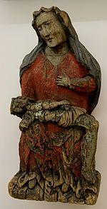 Pietà, Siercza, XIX wiek, Muzeum Etnograficzne w Krakowie