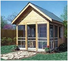 Do It Yourself Plans for a Backyard Cottage or Studio from PlansNow.com