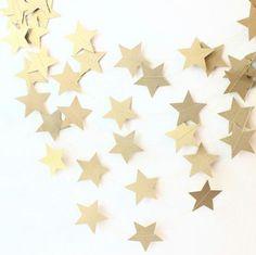 ゴールド メタリック スター 星 ウォール ガーランド 結婚式にも♪ パーティー - -Beautiful Sail-日本未入荷ファッションセレクトショップ
