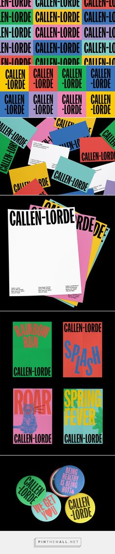 Brand New: New Logo and Identity for Callen-Lorde by Mother Design... - a grouped images picture - Pin Them All