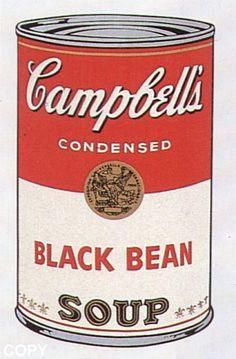Andy Warhol, Black Bean, II.44