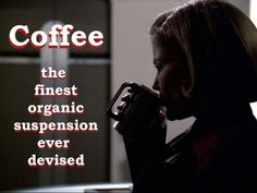 Captain Janeway << Love this, Janeway doing what Janeway does best. Mmm...coffee.