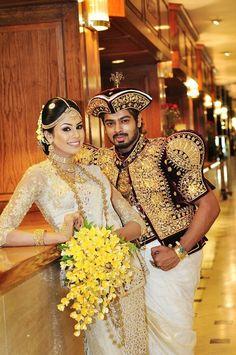 Sri Lankan Kandyan bridle 👰