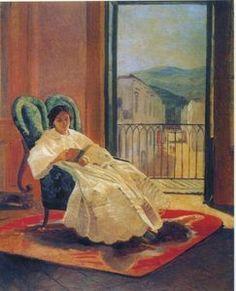 Nikolai Ge - Porträt der Frau des Künstlers Anna Ge