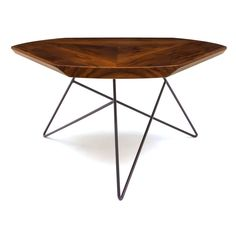 Would love this as a dining table! Acute Coffee Table by Brave Space Design.