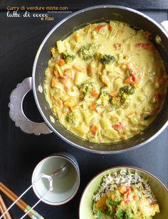 #curry indiano di verdure miste per il primo compleanno di #diversamentelatte