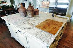 Latest white granite countertops vs marble only on homeeideas.com