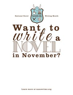 Wikipedia Entry: Lots of good background info about NaNoWriMo here, especially if you're interested in their history and how they came to be, etc. 50K words in 1 month = 1666.67 words per day to make 50K words by the end of November.