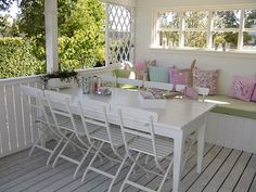 Another reason to want a deck or porch!