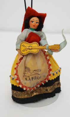 Darling Italian Souvenir Doll from Naples by UniqueWorldDolls