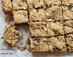 Say hello to the laziest cookie recipe ever. Luckily, they these Chocolate Coconut Oatmeal Bars taste amazing. No one will ever know!