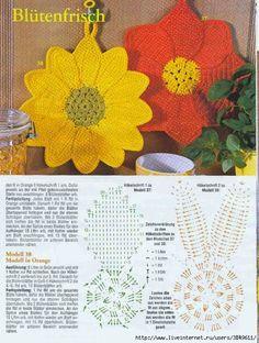 Crochet: Large flowers