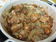 Me sabe a Málaga: Arroz caldoso a la malagueña Grains, Rice, Food, One Pot Dinners, Vegan, Kitchen, Meal, Eten, Meals