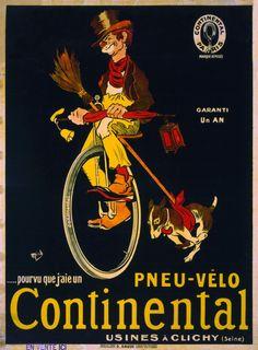 49 belles publicités anciennes pour des vélos - la boite verte