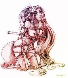 Shibari one by Alimika
