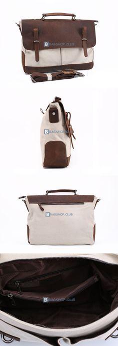 Canvas Shoulder Bag Men Messenger Bag