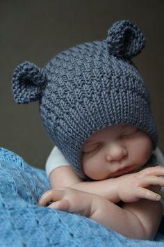 Diy Crafts - magazine,mode-All styles: Cap Model - Buy Online Magazine buy magazine mode . : All styles: Cap Model – Buy Online Ma Knitted Baby Clothes, Baby Hats Knitting, Sweater Knitting Patterns, Knitting For Kids, Knitting Projects, Knitted Hats, Patron Crochet, Knit Crochet, Crochet Hats