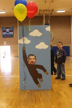 "Photo 2 of 20: Curious George / Birthday ""Dane's Curious George Birthday Party "" 