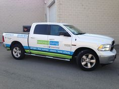 This great new truck wrap completed by Speedpro Imaging Erin Mills! Informative!