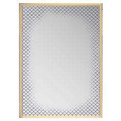 Tarou - Miroirs-Vases, Objets de déco Miroir rectangulaire sérigraphié 50x70cm
