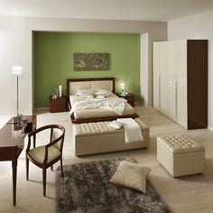 Sypialnia Sky nowoczesna w skórze Modern bedroom Sky