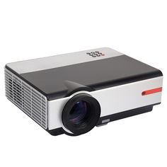 Rigal 808B LCD 2500LM 3D HDMI 1080P HD Home Theater LED Projector