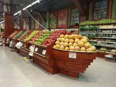 "Store design by B-Smart retail. New supermarket ""Salach Dabach"". Sea of galilee"