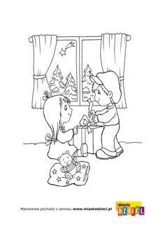 Boże Narodzenie - kolorowanki dla dzieci