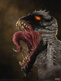 #Anti #Venom #Fan #Art. (Anti-Venom) By: JakkArt. (THE * 5 * STÅR * ÅWARD * OF * MAJOR ÅWESOMENESS!!!™)