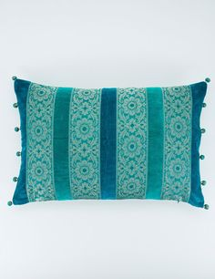 SIMPLY SARI cushion turquoise | Pillow | Pillow | Cushions | Interior | INDISKA Shop Online