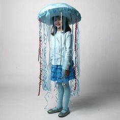 blue jellyfish costume