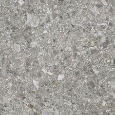Cascade Grey Terrazzo / Stone Look Porcelain Tile Floor Texture, 3d Texture, Tiles Texture, Stone Texture, Terrazzo, Tile Patterns, Textures Patterns, Exterior Tiles, Carpet Squares