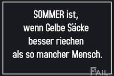 Sommer ist, wenn...