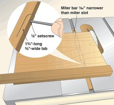 Jigs and fixtures can make repetitive woodworking tasks safer and easier. Learn about building your own jigs for your table saw and router in addition to other useful jigs. Jet Woodworking Tools, Woodworking Jigsaw, Woodworking Workshop, Woodworking Projects, Wood Jig, Diy Shops, Thing 1, Shop Layout, Homemade Tools
