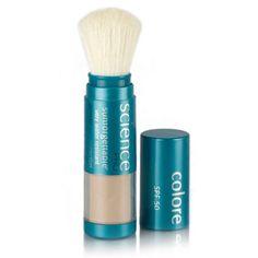 Amazon.com : Colorescience Pro Sunforgettable Mineral Powder Brush SPF 50 Matte 0.21 oz. : Foundation Makeup : Beauty