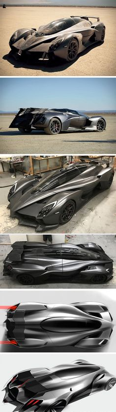 RAESR's Tachyon Speed electric hypercar is well on its way! Under the tail fins, it sports a neck-breaking combination of six direct-drive electric motors, producing 1,250bhp and 4,949 Nm torque. Aesthetically, its jet-fighter style cockpit places driver and rider in tandem for enhanced aerodynamics down the line.