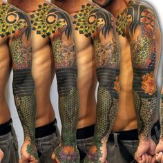 geometric tattoo sleeves - Google Search