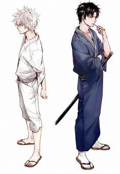 Gintoki and Hijikata
