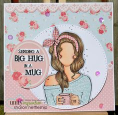 Unity Stamps - May KOTM Family Painting, Coffee Cards, Unity Stamps, Love Stamps, Bullet Journal Ideas Pages, Card Sketches, Journal Inspiration, Paper Dolls, Cardmaking