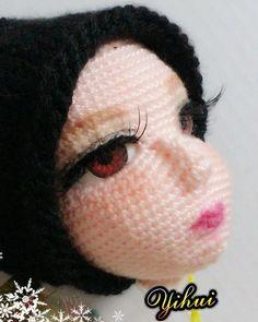 """Inspiration only - Yihui Li (@li_yi_hui) on Instagram: """"#crocheting #crochet #chinadoll #doll #編織 #毛線娃娃 #毛線 #人形娃娃 #手作り #編みぐるみ #handmade #crochetdoll #diy…"""""""