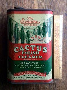 CACTUS Polish Cleaner tin