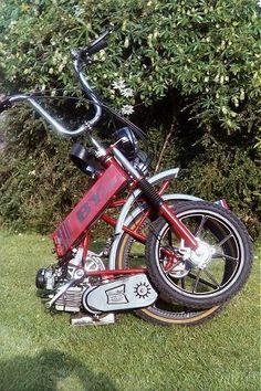Alkro BYlight folding moped