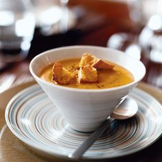 Winter Squash Soup with Pie Spices   Food & Wine